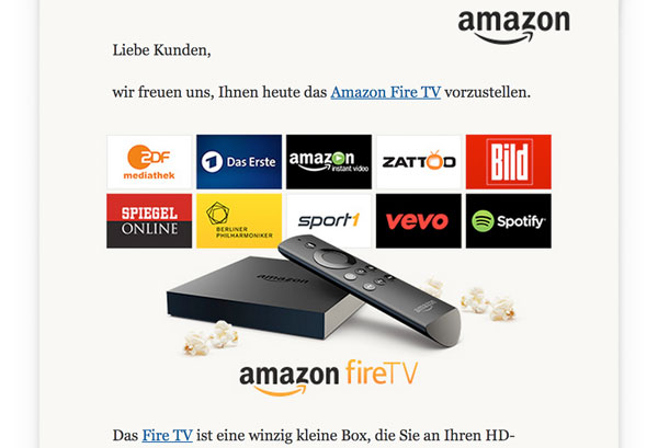 Amazon Prime Fire TV