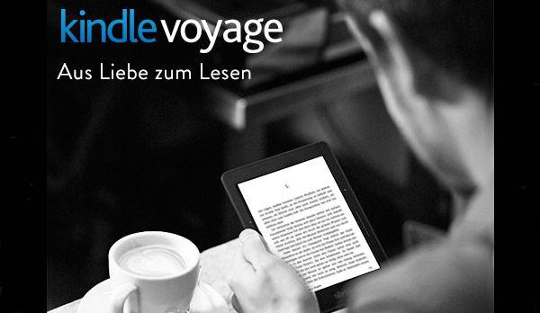 Kindle Voyage Cafe