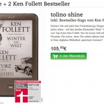 Tolino Shine Ken Follett Bundle