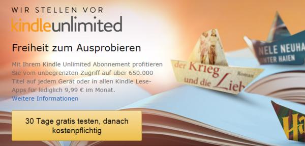Kindle Unlimited Start