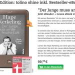 Tolino Shine Bundle kerkeling